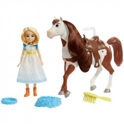 Игровой набор с куклой Эбигейл и лошадкой Бумеранг Mattel Spirit Untamed Miradero Festival Abigail Doll