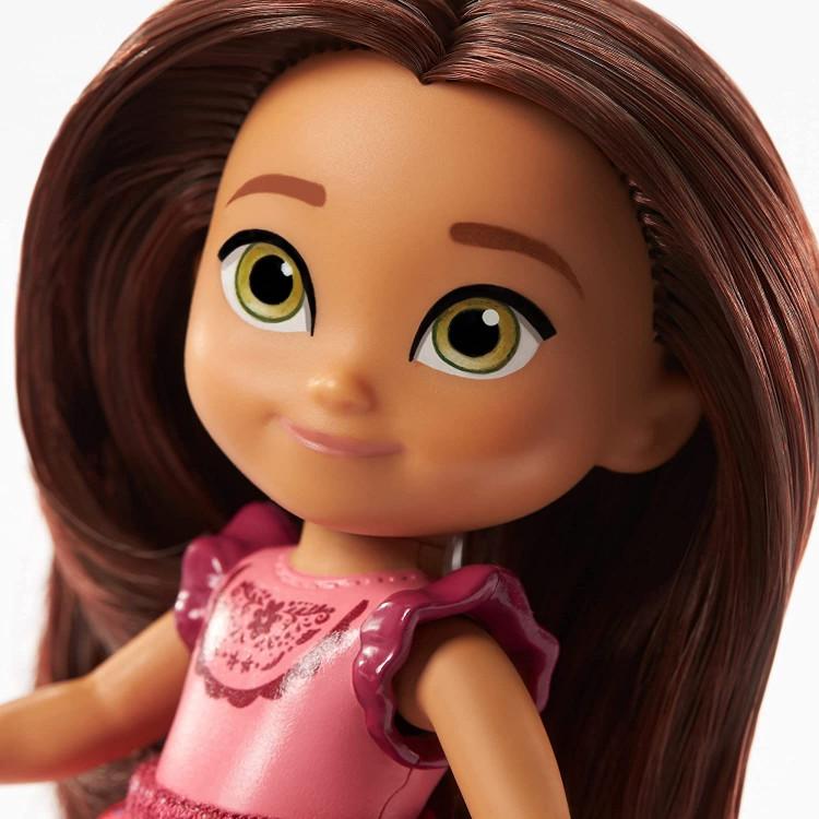 Кукла маленькая Лаки и лошадка-качалка Mattel Spirit Untamed Young Lucky Doll