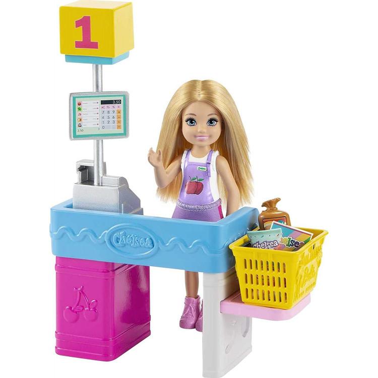 Игровой набор Кукла Барби Челси Я могу быть Киоск с закусками Barbie Chelsea Can Be Snack Stand Playset