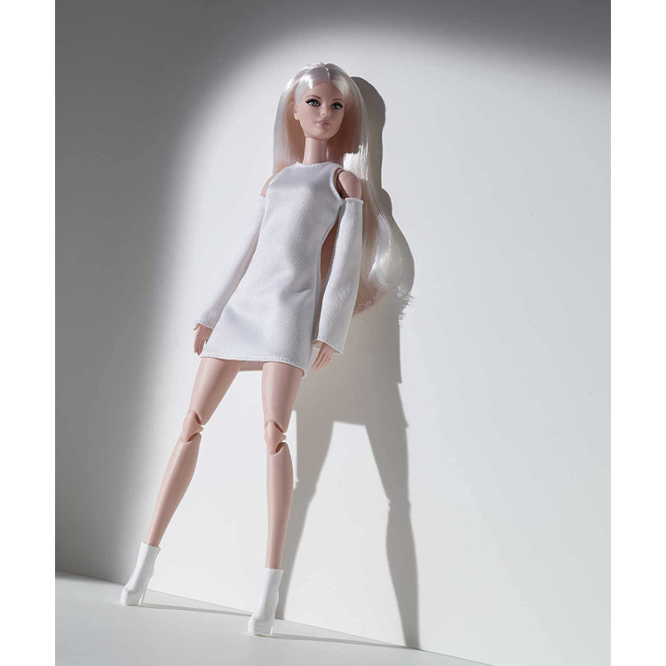 Лялька Барбі колекційна Висока платинова блондинка Barbie Signature Looks Doll, Tall Blonde #6