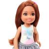 Кукла Барби Челси в топе с единорогом Barbie Club Chelsea Doll, Brunette