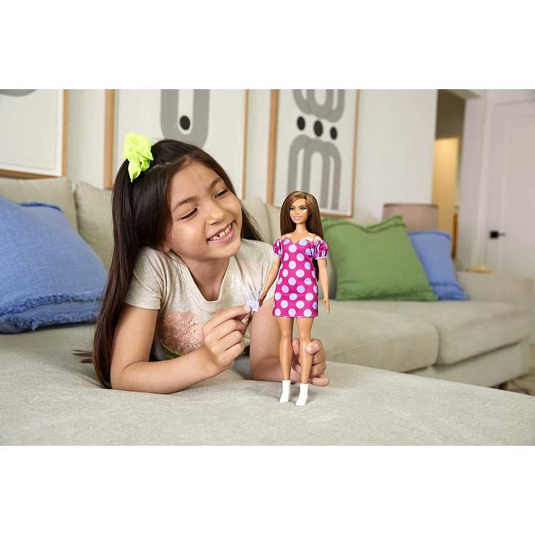 Кукла Барби Модница витилиго Barbie Fashionistas Doll with Vitiligo Polka Dot Dress 171