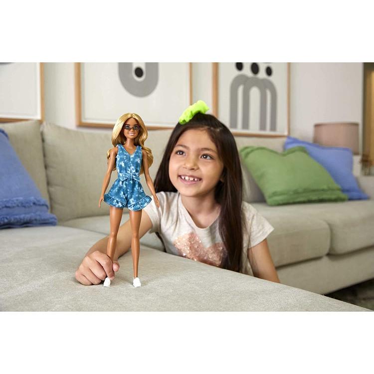 Лялька Барбі Модниця в комбінезоні Barbie Fashionistas Doll, Tie-Dye Romper 173