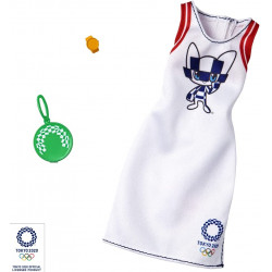 Одежда для кукол Барби Barbie Clothes: Olympic Games Tokyo 2020 Doll, Dress with Purse