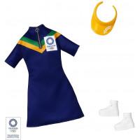 Одяг для ляльок Барбі Barbie Clothes: Olympic Games Tokyo 2020 Doll, Dress with Visor