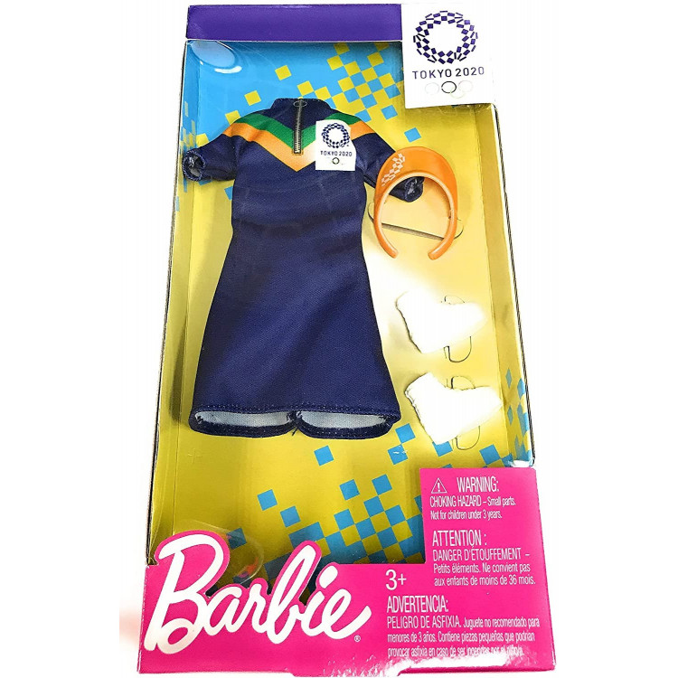 Одежда для кукол Барби Barbie Clothes: Olympic Games Tokyo 2020 Doll, Dress with Visor