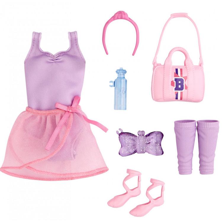 Одежда для кукол Барби Балет Barbie: Big City, Big Dreams Ballet Fashion Pack