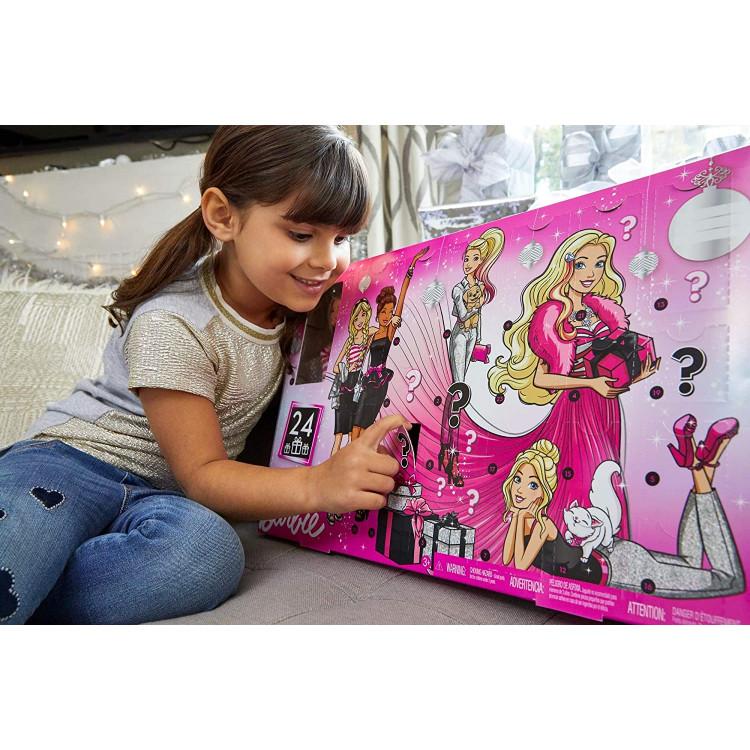 Лялька Барбі Різдвяний календар з одягом та аксесуарами Barbie Advent Calendar