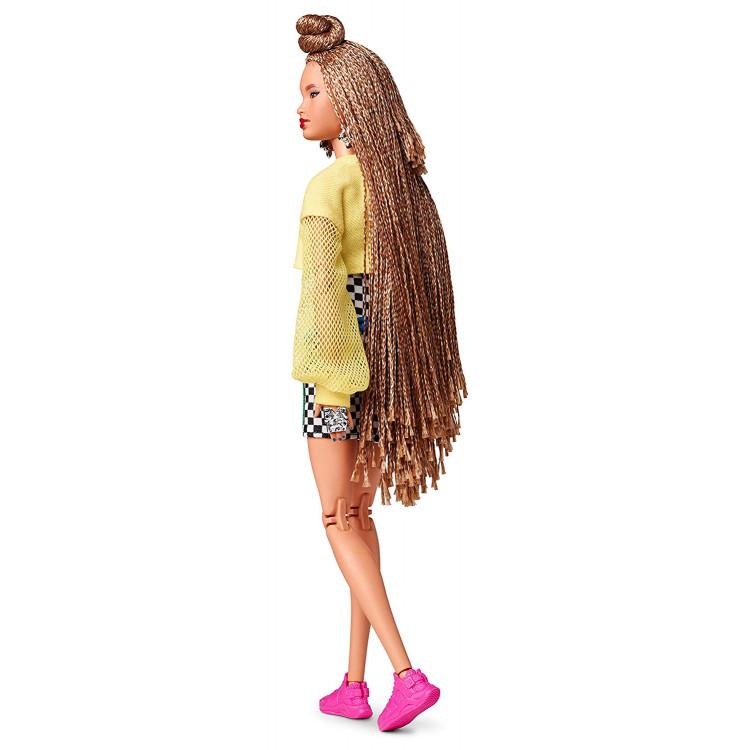 Лялька Барбі Barbie BMR 1959 Fully Poseable Fashion Doll with Braided Hair, Bike Shorts, Romper & Cropped Sweatshirt