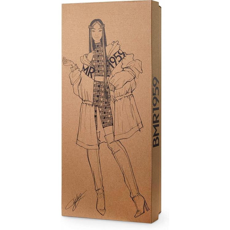 Лялька Барбі Barbie BMR1959 Fully Poseable Fashion Doll Color Block Windbreaker, Bike Shorts and Vinyl Boots