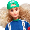 Кукла Барби Barbie BMR 1959 Fully Poseable Fashion Doll with Curly Blonde Hair, Sweatshirt & Striped Shorts