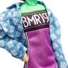 Лялька Барбі Barbie BMR 1959 Fully Poseable Fashion Doll, Neon Motocross Dress & Oversized Denim Jacket