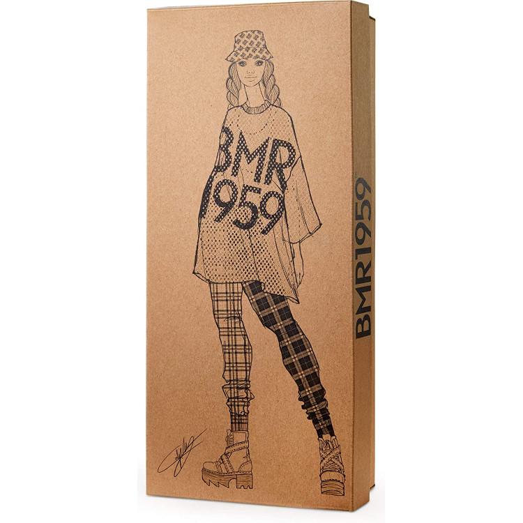 Лялька Барбі Barbie BMR1959 Fully Poseable Fashion Doll Mesh T-Shirt, Plaid Joggers and Bucket Hat