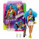 Кукла Барби Экстра Модница со скейтбордом Barbie Extra Doll #4 with Skateboard & 2 Pet Kittens