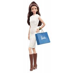 Кукла Барби Высокая Мода Шопинг Barbie Look Collection City Shopper Doll with White Dress
