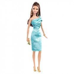 Кукла Барби Высокая Мода в зеленом платье Barbie The Look Red Carpet Green Dress Doll