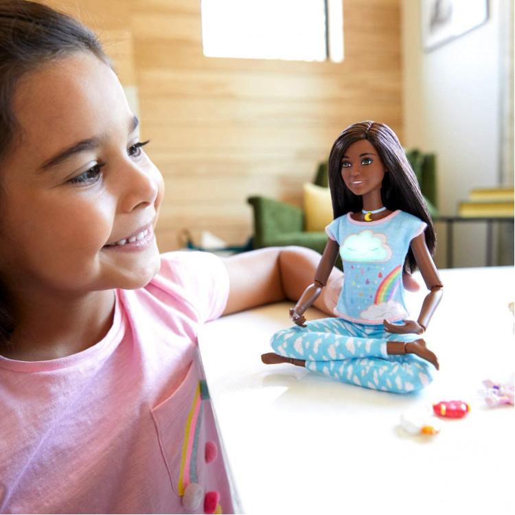Лялька Барбі Медитація Дихай зі мною Barbie Breathe with Me Meditation Doll, Brunette