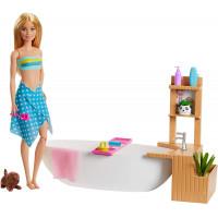 Игровой набор Кукла Барби и Шипучая ванна Barbie Fizzy Bath Doll and Playset, Blonde