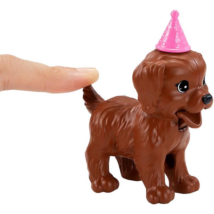 Кукла Барби Вечеринка для щенков Barbie Doll & Puppy Party Playset, Brunette