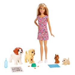 Кукла Барби уход за щенками Barbie Doggy Daycare, Blonde