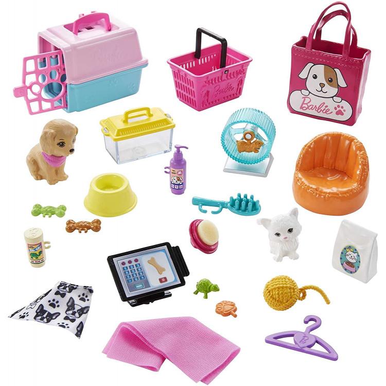 Ігровий набір Барбі Зоомагазин Barbie Doll and Pet Boutique Playset