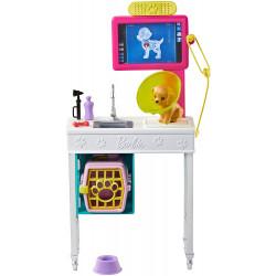Игровой набор Ветеринарный офис Рентген для животных Барби Barbie Career Places Pet Vet Veterinarian Office Playset