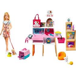 Кукла Барби Магазин домашних животных Barbie Doll and Pet Boutique Playset