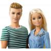 Набор кукол Барби и Кен со щенком Barbie and Ken Dolls with Puppy & Accessories