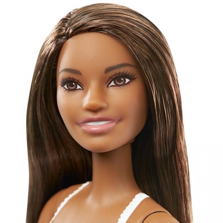 Лялька Барбі в купальнику Брюнетка Пляж Barbie Doll in Swimsuit with US Flag, Brunette
