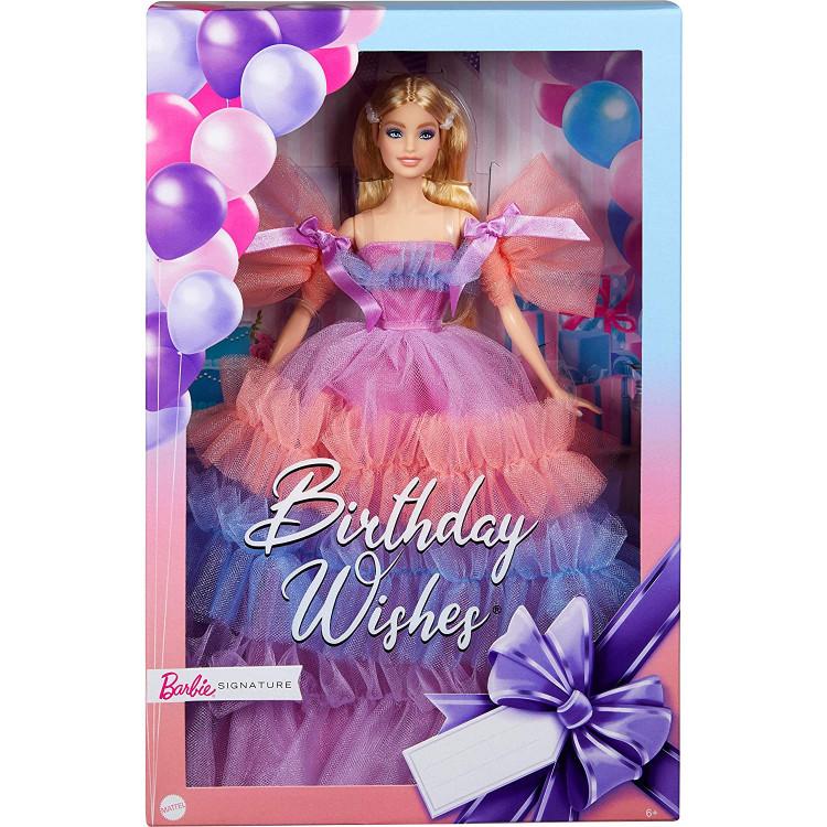 Кукла Барби Особенный день рождения Barbie Birthday Wishes 2021 Signature Doll