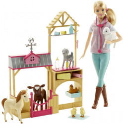 Кукла Барби Ветеринар на ферме Barbie Careers Farm Vet Doll & Playset