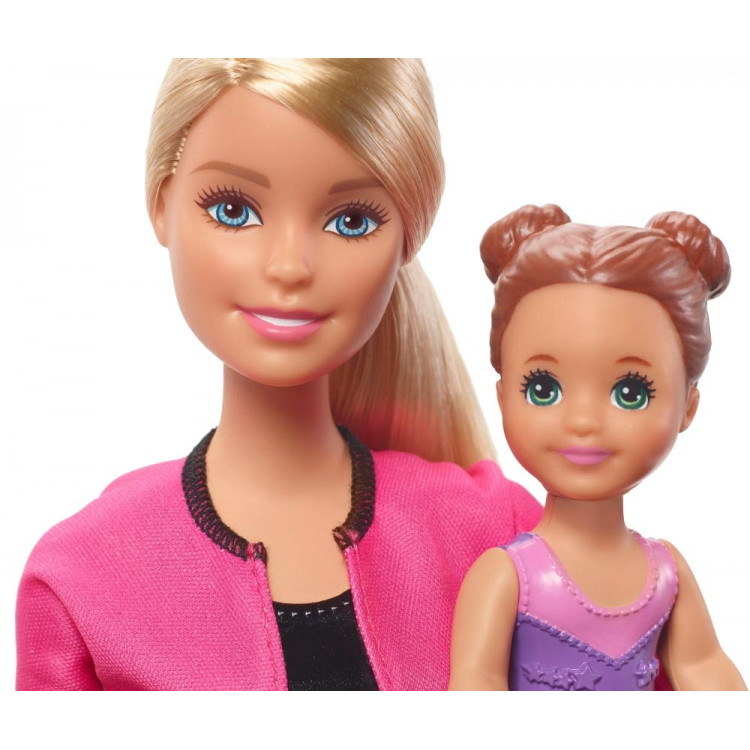 Кукла Барби Тренер по спортивной гимнастике Barbie Gymnastics Coach Doll & Playset, Blonde