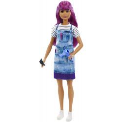 Кукла Барби Стилист Barbie Salon Stylist Doll with Purple Hair