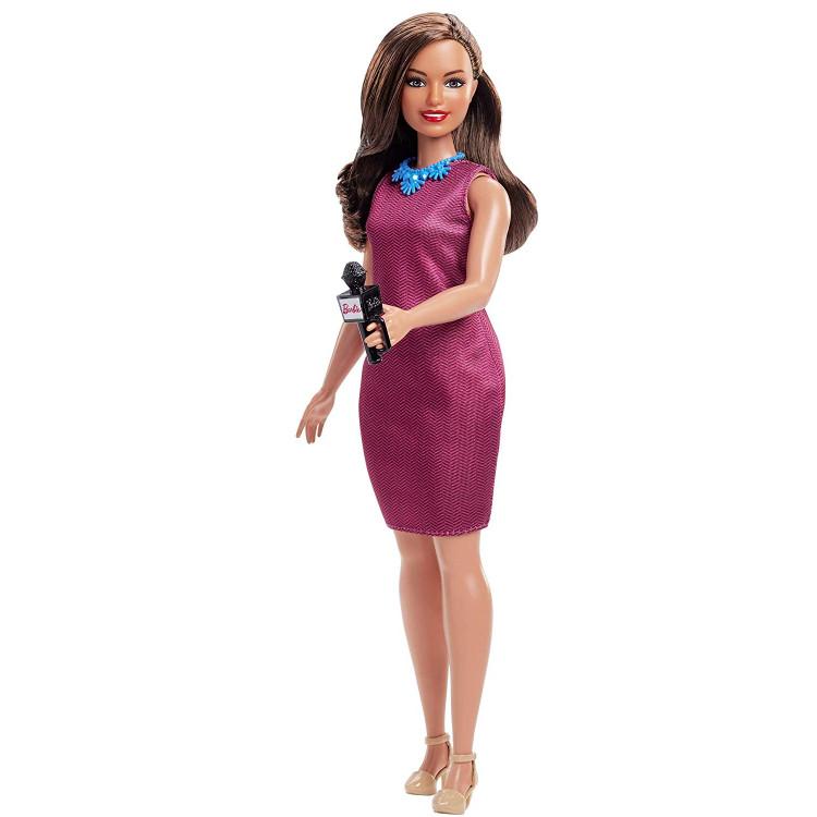 Барбі Ведуча новин Barbie Careers 60th Anniversary News Anchor Doll