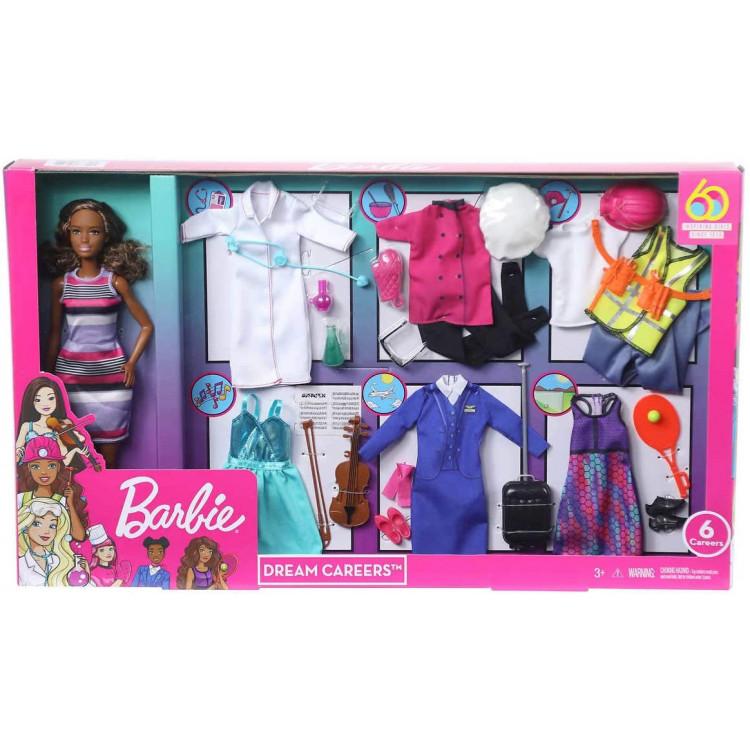 Лялька Барбі Я можу стати Кар'єри Мрії Barbie You Can Be Anything Barbie Dream Careers Doll & Clothes, African American