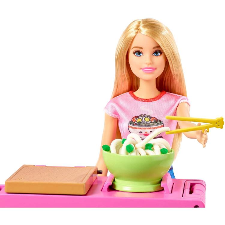 Ігровий набір Зроби локшину з лялькою Барбі Barbie Noodle Bar Playset with Blonde Doll