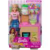 Игровой набор Сделай лапшу с куклой Барби Barbie Noodle Bar Playset with Blonde Doll