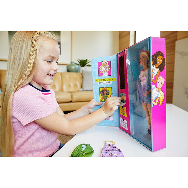 Кукла Барби Я могу быть Сюрприз Barbie You Can Be Anything Surprise Careers with Doll and Accessories, Blonde