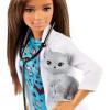 Лялька Барбі Я можу бути Ветеринар Barbie Careers Pet Vet Brunette Petite Doll