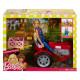 Игровой набор Кукла Барби и Трактор Barbie Doll and Tractor