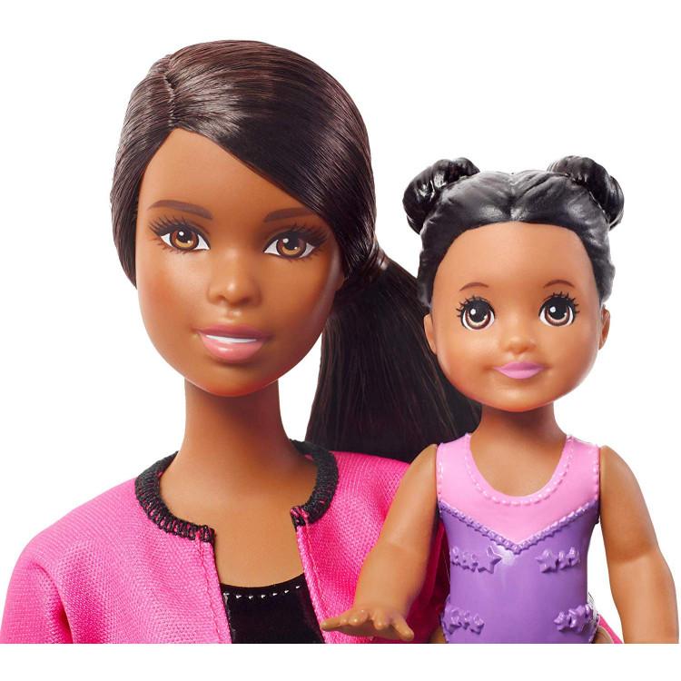 Кукла Барби Тренер по спортивной гимнастике Barbie Gymnastics Coach Doll & Playset