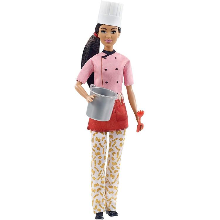 Кукла Барби Паста Шеф Barbie Pasta Chef Brunette Doll