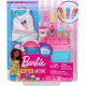 Набор аксессуаров для приготовления мороженого Барби Barbie Cooking & Baking Accessory Pack with Ice Cream-Themed Pieces