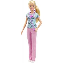 Кукла Барби Медсестра Блондинка Barbie Nurse Blonde Doll