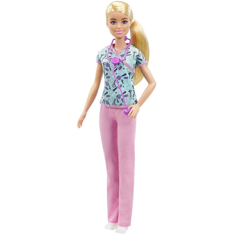 Лялька Барбі Медсестра Блондинка Barbie Nurse Blonde Doll