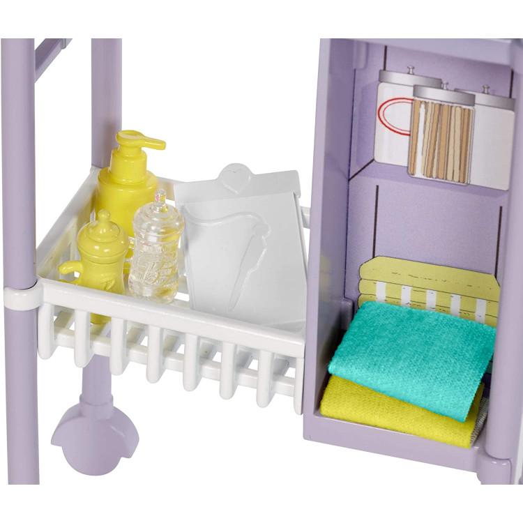Лялька Барбі Я можу бути Педіатр Barbie Baby Doctor Playset with Blonde Doll