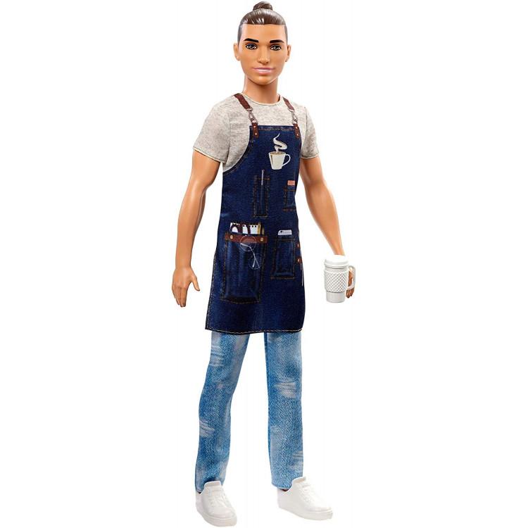 Кукла Кен Бариста Barbie Careers Ken Barista Doll