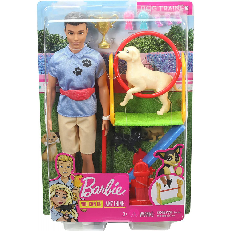 Ігровий набір Барбі Лялька Кен дресирувальник Barbie Ken Dog Trainer Playset