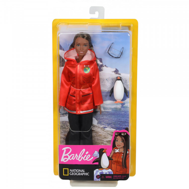 Барбі Полярний морській вчений Barbie National Geographic Polar Marine Biologist Doll