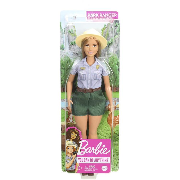 Кукла Барби Смотритель парка Barbie Careers Park Ranger Curvy Blonde Doll